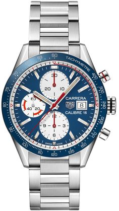 TAG Heuer Watch Carrera Calibre 16 Chronograph #add-content #basel-18 #bezel-fixed #bracelet-strap-steel #brand-tag-heuer #case-material-steel #case-width-41mm #chronograph-yes #cws-upload #date-yes #delivery-timescale-call-us #dial-colour-blue #gender-mens #luxury #movement-automatic #new-product-yes #official-stockist-for-tag-heuer-watches #packaging-tag-heuer-watch-packaging #style-dress #subcat-carrera #supplier-model-no-cv201ar-ba0715 #warranty-tag-heuer-official-2-year-guarantee