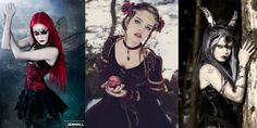 Fairy Goths a mix between Romantic & Medieval with a love for fantasy.