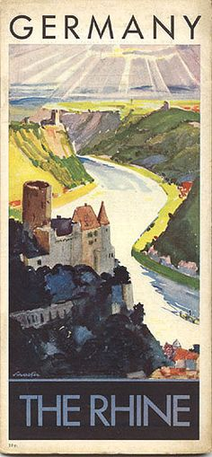 Germany- The Rhine Schaefer circa 1935