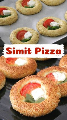 Pizza Recipes, Cooking Recipes, Gluten Free Pastry, Wine Tasting Party, Pastry Cake, Turkish Recipes, Dough Recipe, Simit Pizza, Bagel