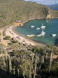 Isla El Faro en Venezuela