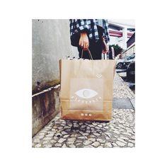 Novos sacos #puracal ! Um preview da nova colecção que vai despertar os sentidos  #paperbag #lxfactory #designstore Paper Shopping Bag, Nova, Messages, Instagram Posts, Design, Sacks, Texting, Text Posts, Design Comics