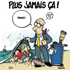 Babouse (2015-09-07) plus jamais ça!   51% des français opposés à l'accueil des migrants. Et encore heureusement, on ne leur a pas demandé de les accueillir chez eux