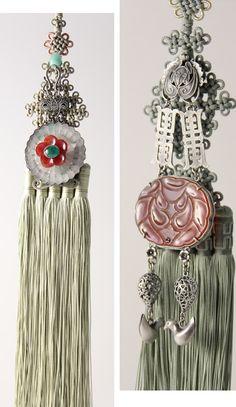 노리개...Korean, hanbok, Hanging Tassel | KIM MeHee hanbok couture