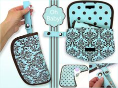 Oh Baby! with Fabric.com: Travel Diaper Case & Changing Pad