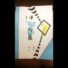 Croqui para Sessão Coruja by Kika. R$ 60,00 por criação no papel R$ 80,00 no corel arte - art - croquis - moda