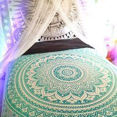 Mandala TapestriesHippie Wall Hanging Bohemian by SinsStuff