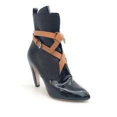 911ad732e603 1293 Best Products images | Black leather ankle boots, Black pearls ...