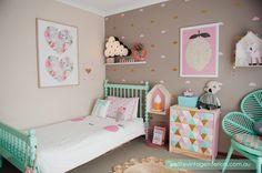 habitación decoración niñas