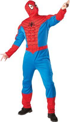 Costume de Spiderman avec muscles