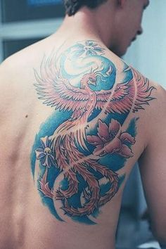 Tatouage phoenix 1458860432476