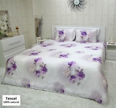 Luxury Bedding Sets From Tencel Fabric, Duvet Covers King Queen Single Sizes 4 or 5 Pieces