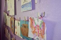 Kid's Art Display | yOuR liTtLe BiRdiE