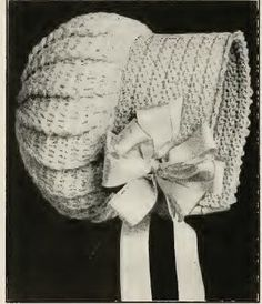 Crochet Baby Bonnet Pattern. This is gorgeous! I love this! Unfortunately, all of my grandchildren are too old for it. Maybe I'll have to talk to one of my sons about another granddaughter.