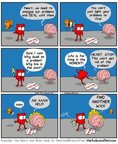 Fight fire with fire. The awkward yeti comics