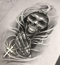 Resultado de imagem para tattoo caveira com coroa