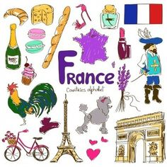 France Culture Map Printable - KidsPressMagazine.com | PASSION FLE | Scoop.it