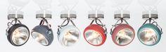 Deze spots kunnen zowel aan de wand als aan het plafond gebruikt worden.Dankzij de kantelbare spot is de No. 7 geschikt voor alle plekken waar je wel wat licht kan gebruiken.De vintage uitstraling zit 'm in de look en de versleten uitstraling van de koplamp.De spot No. 7 is leverbaar in zwart, d.grijs, wit, rood, Marsala-roze en mintgroen, en wordt geleverd inclusief 40w helderegloeilamp (E-27 fitting).