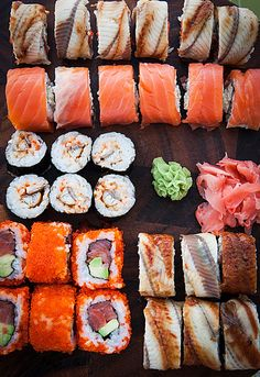 Homemade Sushi Rolls by Katty-S on Flickr.