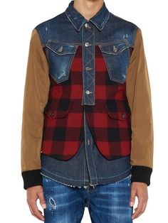 DSQUARED2 Dsquared2 Jacket. #dsquared2 #cloth #
