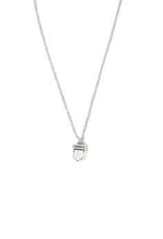 Faux Crystal Pendant Necklace | Forever 21 - 1002247161