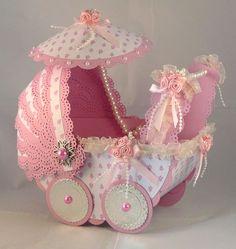 Suzie's Card Den: Fashionista Challenge - Baby Pram