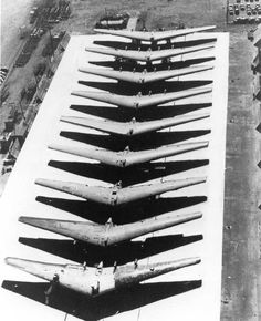 YB 47 lineup at the cancellation of the contract before destruction