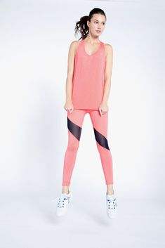 Goddess Vertical tank- like the blue Goddess print and not this coral coolor.