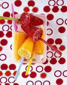 Nejlepší recepty na domácí nanuky, po kterých rozhodně nepřiberete - iDNES.cz Grapefruit, Watermelon, Peach, Food, Essen, Peaches, Meals, Yemek, Eten