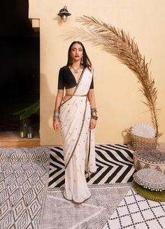 Cherry Sari and Vintage Crop Top- Cherry Sari and Vintage Crop Top  White stylish saree  -#interiorarchitecturecafe #interiorarchitectureperspective #interiorarchitecturerestaurant #interiorarchitectureschool #interiorarchitecturevisuals
