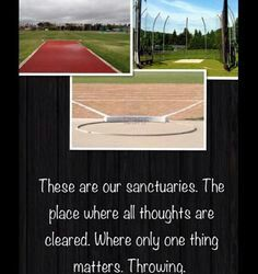 All that matters is throwing. Track Quotes, Sport Quotes, Nike Quotes, Throw Like A Girl, Girls Be Like, Discus Throw, Hammer Throw, Shot Put, Cross Country Running