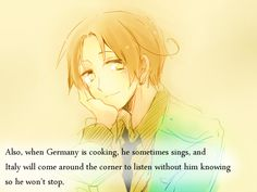 Germany has such a majestic voice (like a majestic eagle) <- This.