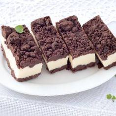 Low Carb Chocolate Crumble Top Cheesecake Keto Recipe
