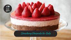 Strawberry Cheesecake No-Bake