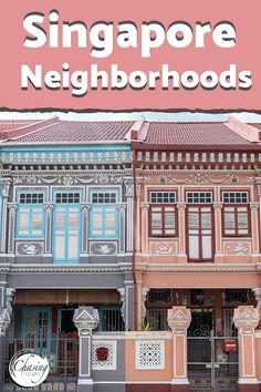We fell in love with the cultural diversity of Check out our guide from the of Kampong Glam to the colorful houses of Joo Chiat and much more! Travel Guides, Travel Tips, Travel Destinations, Singapore Travel, Malaysia Travel, Asia Travel, Travel Plane, Bhutan, Best Hotels
