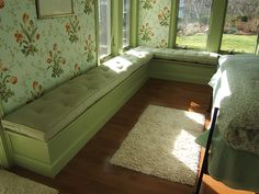 Down Window Seat Cushions | velvetdragon64 | Flickr