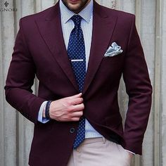 Another great jacket. More purple than marsala but nice