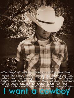 reba mcentire - i want a cowboy