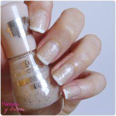 Manicuras y Belleza: NOTD: Reinventando la manicura francesa con puntos | French manicure with dots Easy nails #nailart #nails #easynailart #easynails