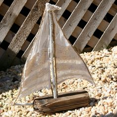 How to Make a Driftwood Sailboat