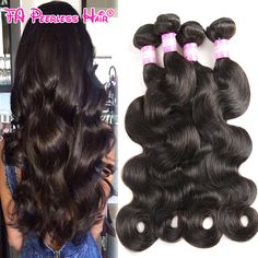 Queen Hair Products Peruvian Body Wave 4 Bundles Unprocessed 7A Peruvian Virgin Hair Body Wave Cheap 100G Human Hair Bundles 1B * Find similar products by clicking the VISIT button