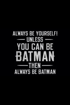 'Always be Yourself! … ' °