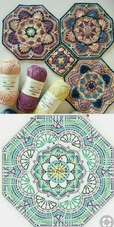 Transcendent Crochet a Solid Granny Square Ideas. Wonderful Crochet a Solid Granny Square Ideas That You Would Love. Motif Mandala Crochet, Crochet Motifs, Granny Square Crochet Pattern, Crochet Diagram, Crochet Blocks, Crochet Chart, Crochet Squares, Crochet Blanket Patterns, Love Crochet