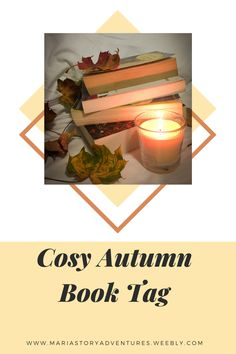 Answering the autumn book tag. #booktag #booklog #bookishblog Book Log, Theatre Reviews, Bookstagram, Candle Jars, Blogging, Entertainment, Posts, Autumn, Group
