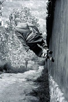 Parkour and other 'town sports' as the subjects of modern Cultural Anthropology.