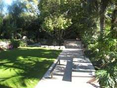 custom backyard skate park and landscaping for our client in CA