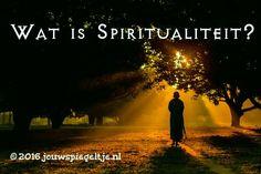 wat is spiritualiteit? Een Hindu monnik mediteert hierover tijdens een wandeling in het bos