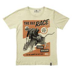 T-Shirt Rat Race Gelb, 29€, jetzt auf Fab.
