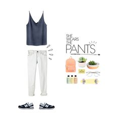 """""""#pastel"""" by nudenim ❤ liked on Polyvore featuring Current/Elliott, Zimmermann, Wildfox, CASSETTE, Herschel Supply Co., philosophy, New Balance and Old Navy"""