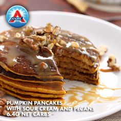 Breakfast just got that much sweeter! Our pumpkin pancakes are acceptable in Phases 2-4.